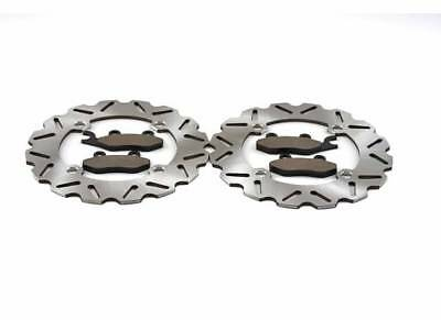2014 - 2016 Can-Am Commander 1000 4x4 XTP Front Sport Brake Rotors & Brake Pads