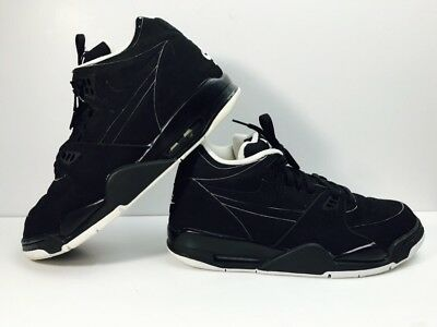 17acd149dd005b Nike Air Flight 89 Basketball Shoes 2006 Black White 306252 004 Size 12 EUC