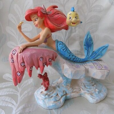 "Disney traditions ""Dreaming Under The Sea"" Ariel.figurine.25th Anniversary."