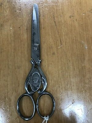 King George V & Queen Mary Commemorative Steel Sewing Scissors Collectible
