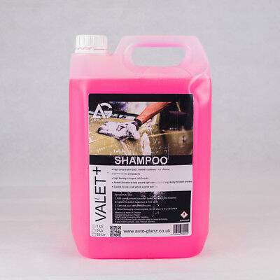AutoGlanz Valet + Trade Concentrated Shampoo 5L