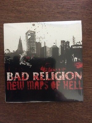 BAD RELIGION New Maps of Hell Promo CD (Epitaph, 2007) NEW SEALED