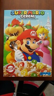 2018 Super Mario Bros. Cereal Limited Edition New Free Shipping