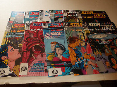 Star Trek Next Generation 1st ongoing # 1-10,Annual # 1--Complete Run--1989--VF