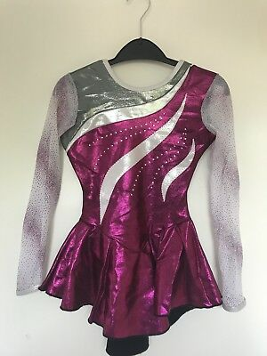 Ice Skating Dress Girls Size 6-8 Years