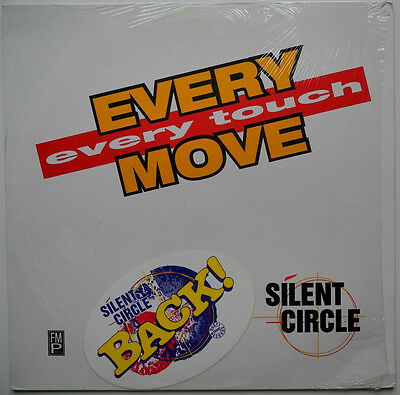 """12"""" De**silent Circle - Every Move, Every Touch (Dusty Rec. '94 / Promo)***23390"""