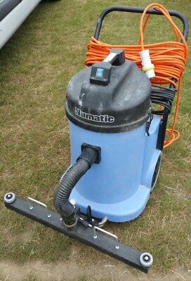 Numatic WVD900-2 Industrial/Commercial Wet & Dry Vacuum Cleaner 110v
