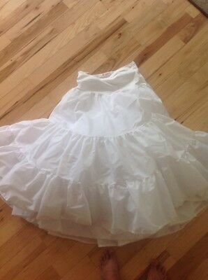 wedding gown crinoline petticoat skirt slip Xl 2x