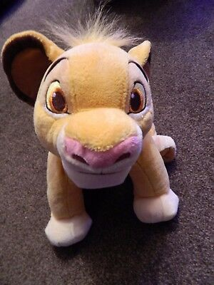 """Disney Store Simba Soft Toy approx. 11"""""""