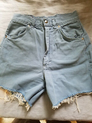 vintage women's JCPenney cut off denim shorts size 12 Ranchcraft