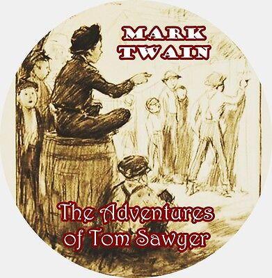 / The Adventures of Tom Sawyer by MARK TWAIN Mp3 CD Audiobook