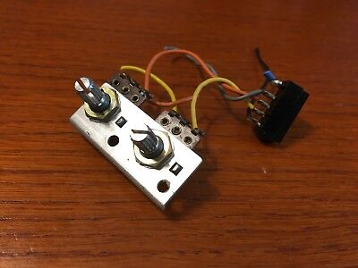 Technics SL-1360 Turntable Parts - Pitch Control Assembly