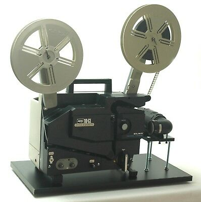 ELMO 16mm Optical & Magnetic Projector Video Transfer Built-In 4K-UHD Camera