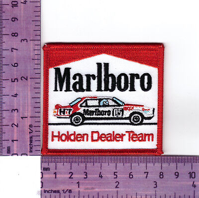 Peter Brock 05 Torana  Marlboro  Heat Sealed Embroidered Cloth Patch..Badge
