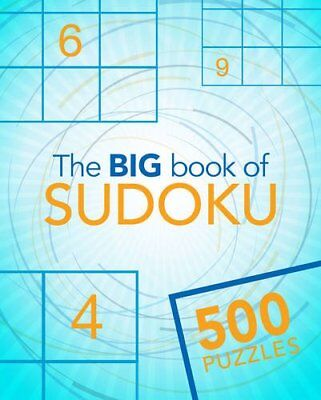 The Big Book of Sudoku (Big Book of 500 Puzzles) by Parragon Books Ltd Book The