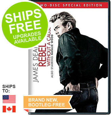 Rebel Without a Cause (DVD, 2013, 2-Disc Special Edition) NEW, James Dean, Wood