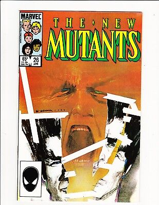 New Mutants #26 1St Full Appearance Legion David Hallers Fx Show Modern Key!