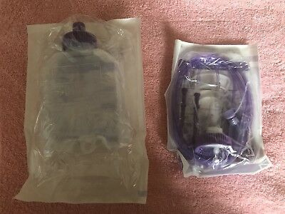 FLOCARE INFINITY GIVING SETS Y-PORTS X20 FLOCARE 500ml CONTAINERS X20