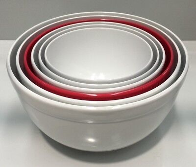 Zak Designs 6Pce Melamine Homewares Kitchen Mixing Bowl Set