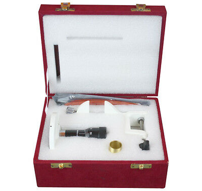 Hand & Table Plant & Histology Microtome w Planoconcave Knife Clamp & Box