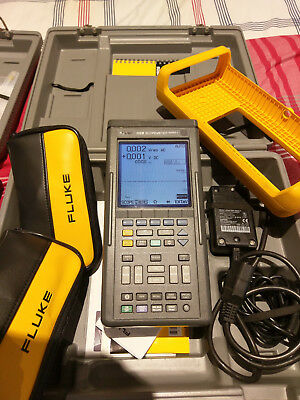 FLUKE 105 B Series II scopemeter Prestine condition , new battery