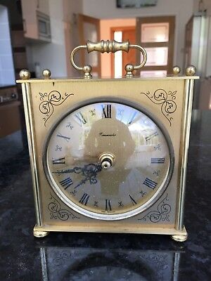 Timemaster carriage Clock