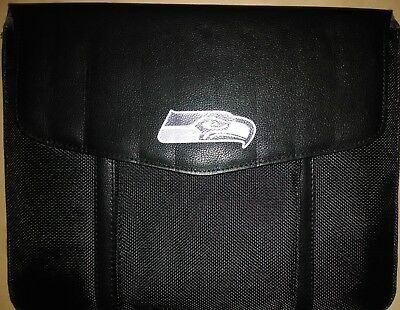 SEATTLE SEAHAWKS Style Verizon Leather/Nylon Tablet Sleeve/Pouch