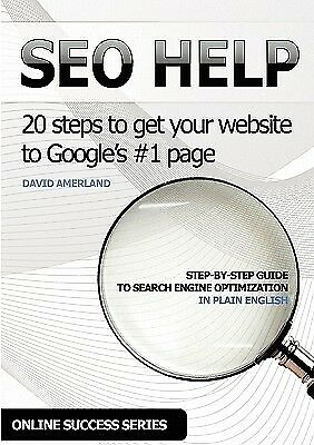 Seo Help 20 Search Engine Optimization Steps Get Your Website by Amerland David