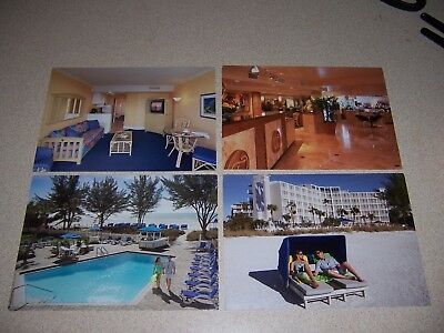 Tradewinds Resort St. Petersburg Beach Florida Vtg Postcard Lot