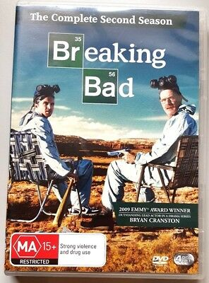 Breaking Bad - The Complete Second Season (4 Disc Set) DVD (Region 4)