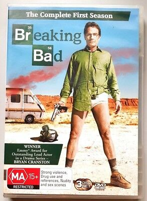 Breaking Bad - The Complete First Season (3 Disc Set) DVD (Region 4)