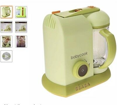 Brand new beaba babycook pro 4 in baby food maker