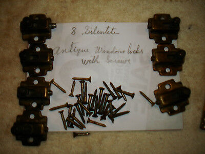 Antique Window Locks W/screws