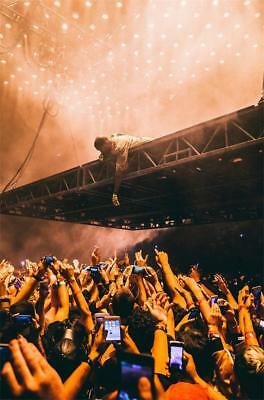 "Kanye West Madison Square Garden July 2 POSTER 18x12 36x24 40x27"" Print Decor"