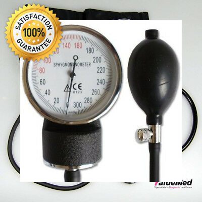 Valuemed - Aneroid Sphygmomanometer Blood Pressure Monitor Meter + Free...