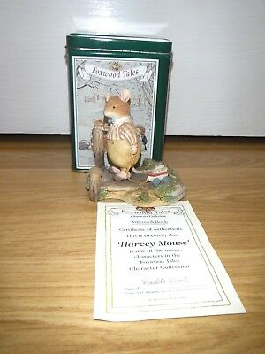 Villeroy And Boch Foxwood Tales ~ Harvey Mouse Ft5 ~ Picnic At Foxwood ~ Boxed