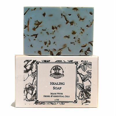 Healing Shea Soap Bar Grief Sorrow Anxiety Restorative Wiccan Pagan Hoodoo Magic
