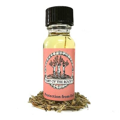 Protection from Evil Oil Negativity Curses Spells Attacks Wiccan Pagan Hoodoo