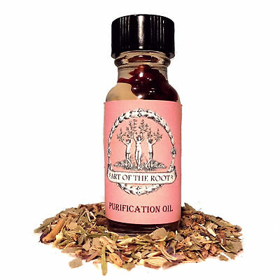 Purification Oil- Removes Negativity Cleanses Purifies Hoodoo Wicca Pagan Voodoo
