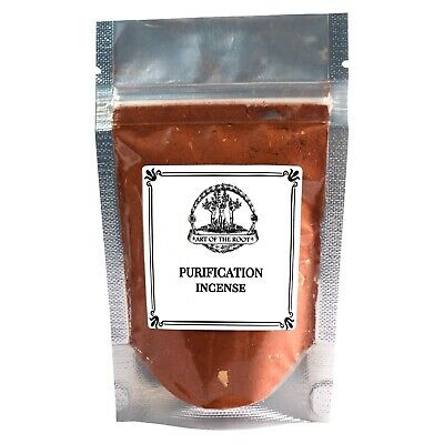 Purification Incense: Cleansing & Clearing Negativity Hoodoo Voodoo Wicca Pagan