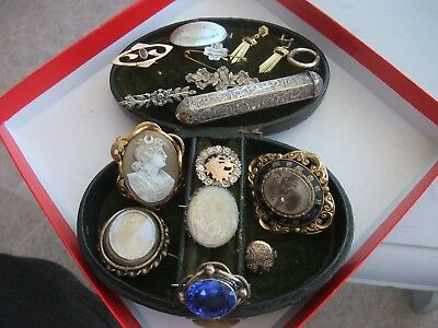 VICTORIAN and later JEWELLERY - JOB LOT