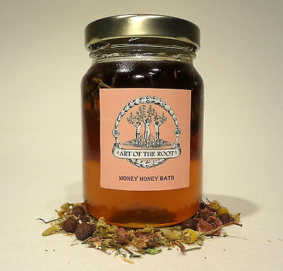 Money Honey Bath Success Prosperity Abundance Hoodoo Voodoo Wicca Pagan Conjure