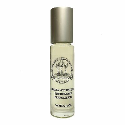 Deadly Attraction Roll-On Pheromone Perfume Love Seduction Wiccan Pagan Hoodoo