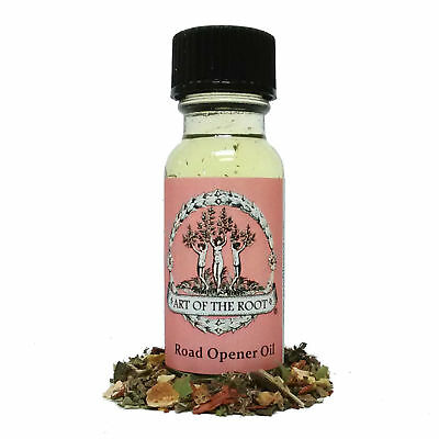 Road Opener Oil  New Opportunities & Success Voodoo Hoodoo Santeria Wicca Pagan