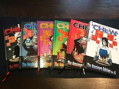Chew Omnivore Complete Collection 1-6 Englisch Original Hardcover, Image Comics