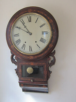 Superb Antique chiming Wall Clock-circa 1890