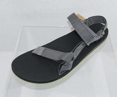 e7739fa54428 Men s Teva Original Universal 1004006 Gray Black Sandals Size ...  Amazon.com