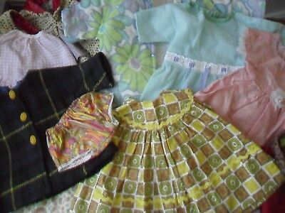 Job Lot / Collection of Vintage c1960s Dolls Clothes