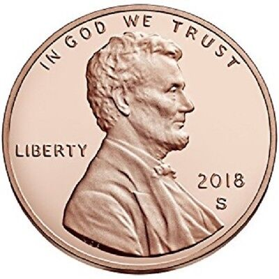 2018 S Lincoln Shield Penny Gem Deep Cameo Proof Penny 1 Cent