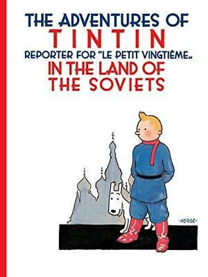 Tintin in the Land of the Soviets by Herge New Paperback Book